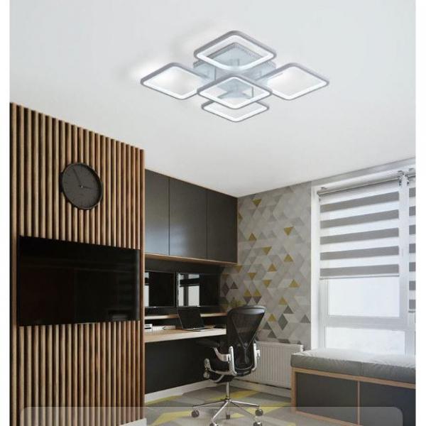 Lustra LED Square Design SLC Patrata [2]